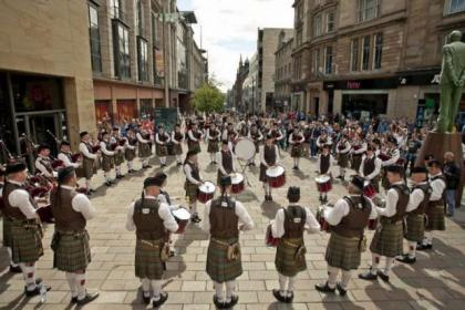 Piping Live will  attract an international line-up for more than 200 events