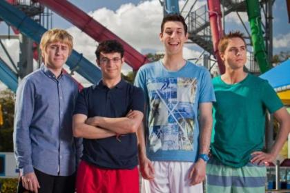 The foursome go to Australia in the second Inbetweeners movie
