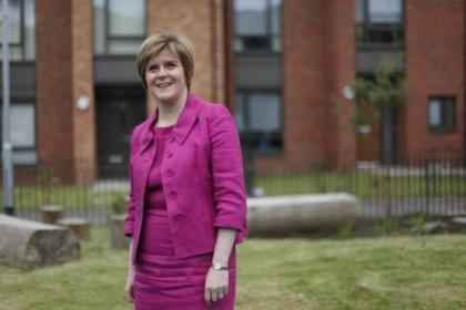 Sturgeon says the independence message is getting through