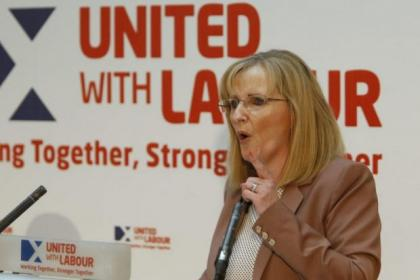 Glasgow East MP Margaret Curran hopes women will sway vote