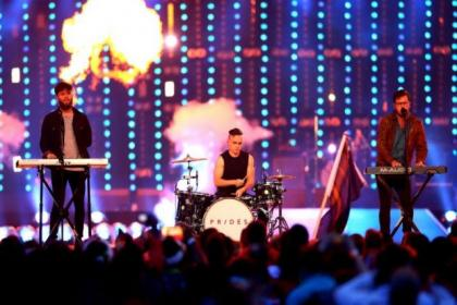 Prides, who appeared at the Commonwealth Games closing ceremony, will before much smaller audiences as they tour their fans' living rooms