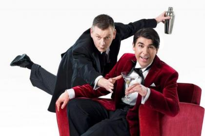 John Gordon Sinclair as Jeeves and James Lance as Bertie Wooster in Jeves & Wooster: Perfect Nonsense, coming to Glasgow in November