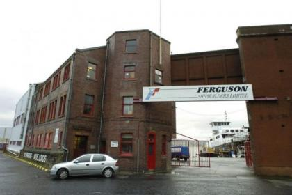 Ferguson Shipbuilding of Port Glasgow, which was first established in 1902, sacked 70 staff after going into administration