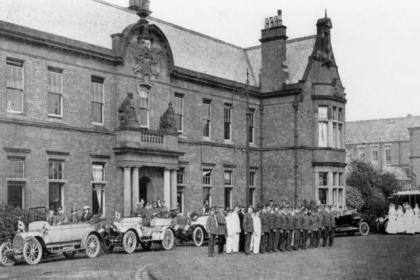 Stobhill was used as a Red Cross Auxiliary Hospital