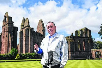 Alex Salmond went to Arbroath to tell of the risks to the NHS