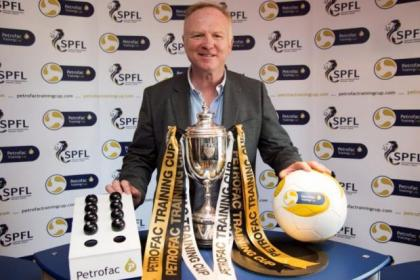 Former Rangers manager Alex McLeish was on hand to draw the Petrofac Training Cup quarter-finals