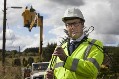 Scottish Power's Guy Jefferson says the power line thefts put lives and communities at risk