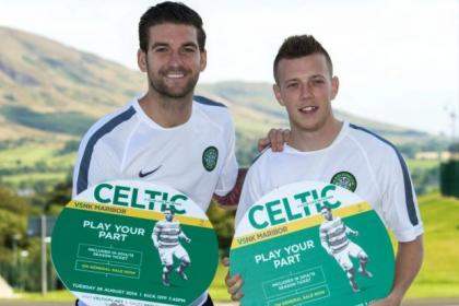 Celtic's Charlie Mulgrew and Callum McGregor look forward to tonight's clash with NK Maribor