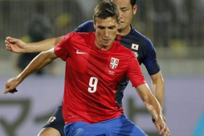 Celtic have been negotiating to bring Sporting Gijon's Serbian striker Stefan Scepovic to Parkhead