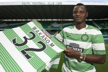 Ghanaian winger Wakaso Mubarak was advised by international team-mate Michael Essien to jump at the chance to join Celtic