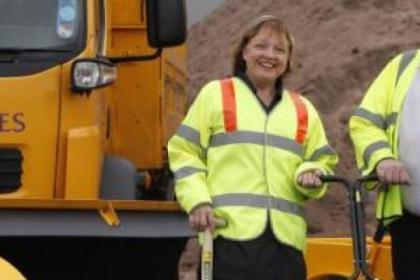 Marie McGurk headed up the high-profile Clean Renfrewshire campaign which won a Keep Scotland Beautiful Award