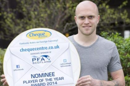 Nicky Law is one of three Rangers players nominated for the League One Player of the Year award