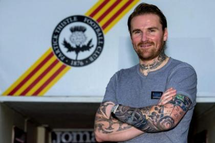 Ryan Stevenson was unveiled at Firhill on Wednesday