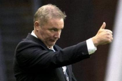 Ally McCoist's side will meet Inverness Caley if they can overcome Queen's Park