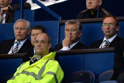 Celtic's 2-0 defeat was painful viewing for Ian Bankier, Peter Lawwell and Eric Riley