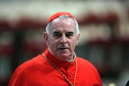Cardinal Keith O'Brien resigns from post