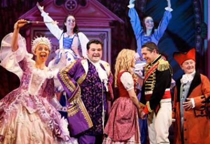 The cast of Cinderella at the King's Theatre