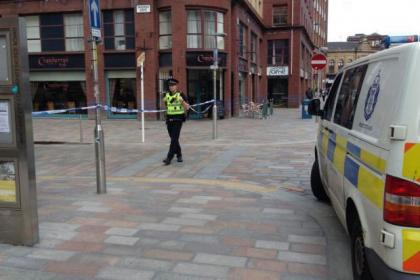 Scene of rape, Brunswick Street, Glasgow