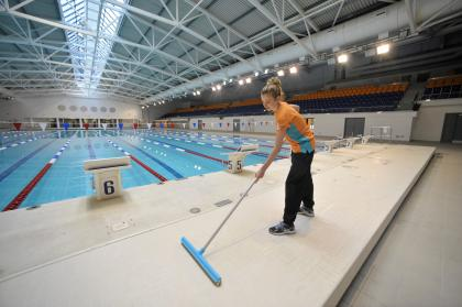Revealed First Glimpse Of The Tollcross Commonwealth Games Pool Evening Times